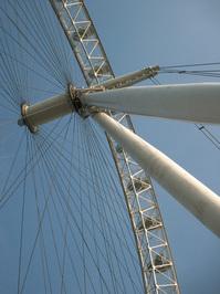 London Eye View from below