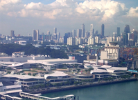 singapore birds view