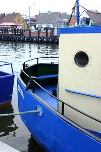 Smeck boat in port