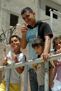 Palestinian children 14