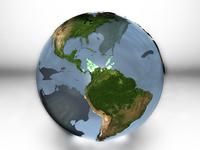 Marble earth