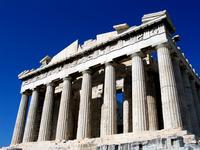 Parthenon, west facade
