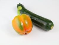 pepper and zucchini