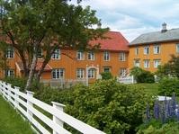 Garden in North of Norway
