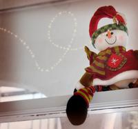 Sparkly snowman