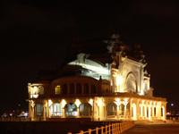 Constanta's casino by night