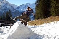 Snowboarding in Elm