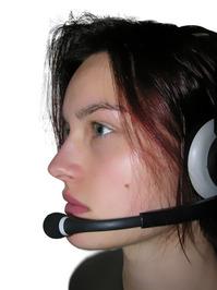 headset model female 1