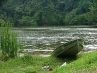 Lakeside Sampan