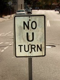 Old Style No U Turn