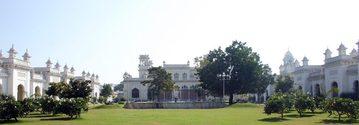 Chow Mohalla Palace Entrance panaroma view