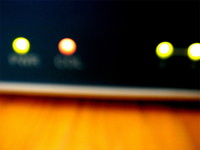 network hub lights