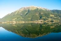 Reflection at the glacial lake