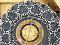 snow tractor wheel