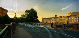 Saint-Petersburg street
