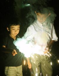 sparkler boys
