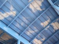 Clouds on Metal Roof