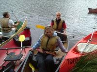 Canoeing Margaret river