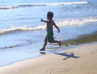 children and beaches