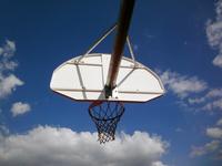 Basketball court at summer 3