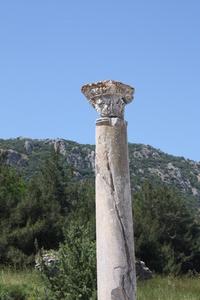 Columns in Ephasus, Turkey