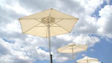 umbrella's in the sun