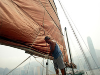 Junk boatman