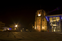 Oldehove at night