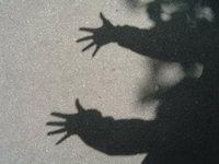shadow of hands