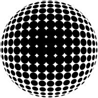 Spherized dots
