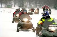 Snow Mobile at Sefsen Sweden 1