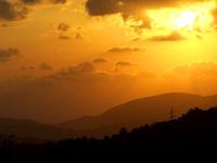 israeli sunset