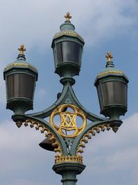 Lamp post near Westminster