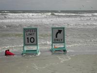 Speed Limit on the sea