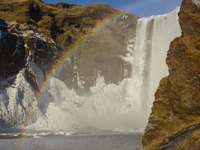 Waterfall & Rainbow