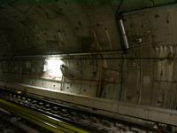 metro tunnel wall