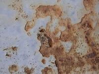 rusty drainpipe