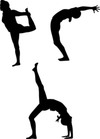 Yoga Silhouette series 2
