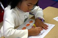 preschool girl learning 3