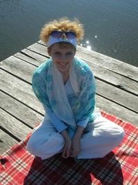 Girl on a pier 3