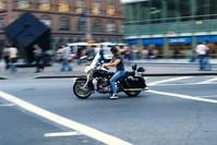 Motor in city