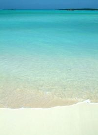 Bahamas/Exuma; Beach, Water an