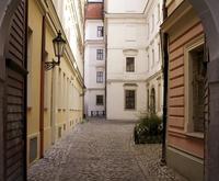Prague back street