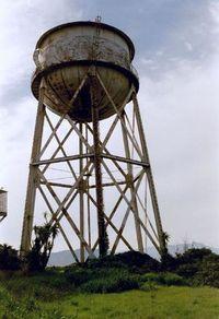 Water Tank on Alcatraz