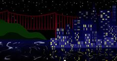 San Fransisco Night