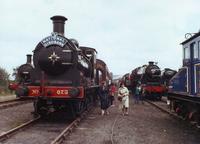 Old 0-6-0 locomotive