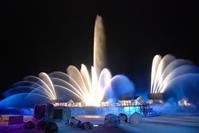 Fountain in the Night 1