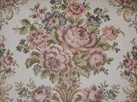 Upholstery Floral Texture