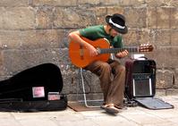 Guitarist in Barcelona