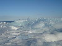 Lake Superior Frozen Over 2